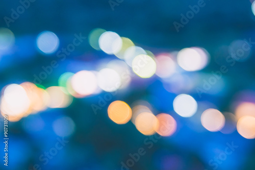 Photo Stands Eggplant Abstract blur bokeh light background