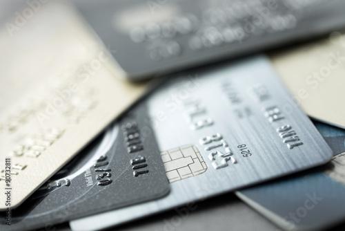 Valokuva Credit cards