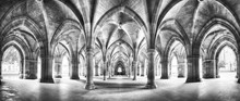Cloister Black And White Panor...