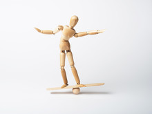 Balance Halten, Gradwanderung, Anlagerisiko
