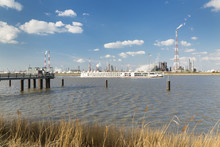 Antwerp Port Refinery And Jetty