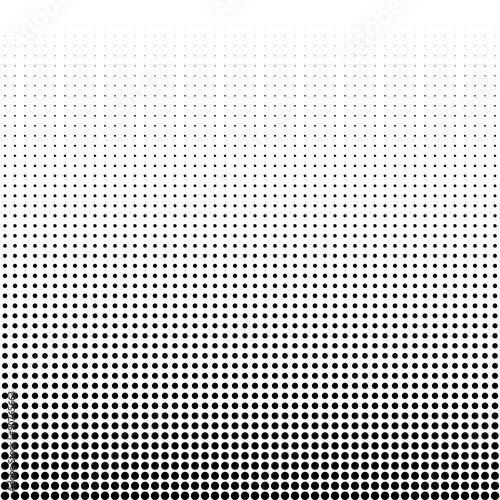 Fotografie, Obraz  Vector illustration of a halftone