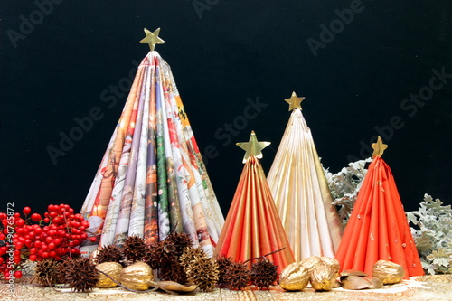 Printed kitchen splashbacks Indians decorazioni natalizie