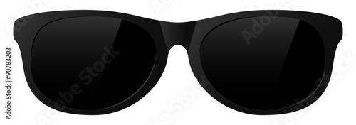 vector sunglasses Fototapet