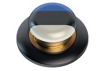 Estonia Flag Button
