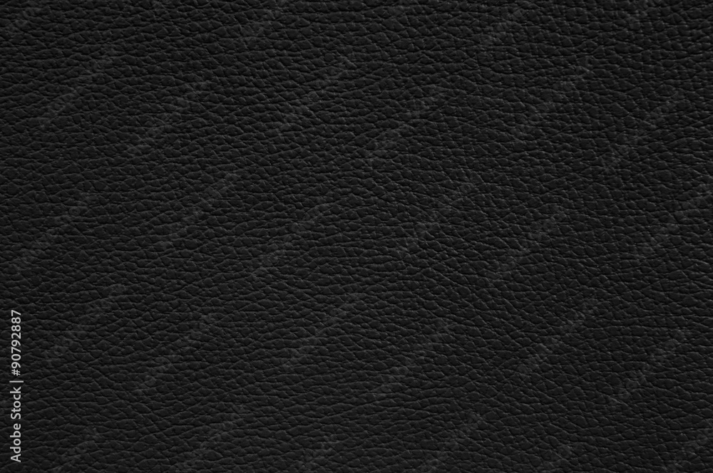 Fototapeta Black leather texture as background