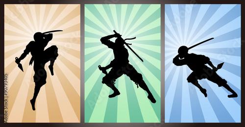 Photo  Japanese assassin, ninja