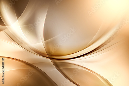 Amazing Gold Abstract Design #90836486