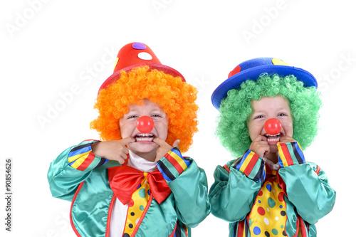 Fotografia, Obraz kinder clowns