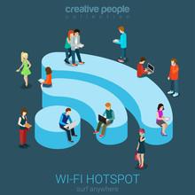 Public Free Wi-Fi Hotspot Isom...