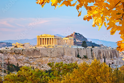 Acropolis in Athens Wallpaper Mural