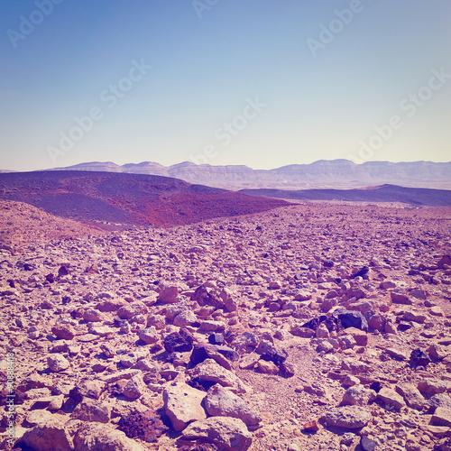 Foto op Aluminium Snoeien Rocky Hills