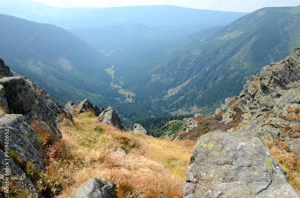 Fototapety, obrazy: Giant Mountains in Poland (Karkonosze)