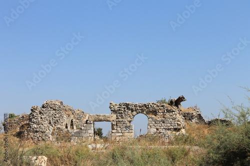 Poster Ruine Miletus Ruins of ancient Greek city in Turkey