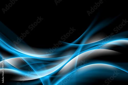 streszczenie-niebieskim-tle-blyszczacy-projekt