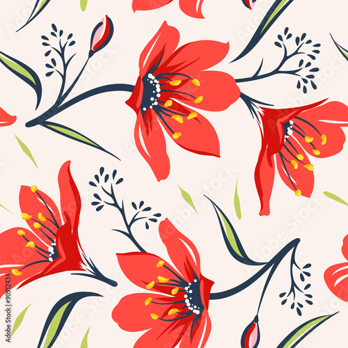 Floral background 004