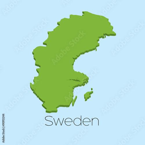 3D map on blue water background of Sweden - Buy this stock ...  D Map Of Sweden on street view of sweden, outline map of sweden, blackout map of sweden, interactive map of sweden, travel map of sweden, coloring map of sweden, cartoon map of sweden, cute map of sweden, vintage map of sweden, hd map of sweden, food map of sweden, terrain map of sweden, print map of sweden, google map of sweden, black map of sweden,