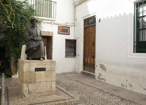 calles del casco histórico de la ciudad de Córdoba, Andalucía