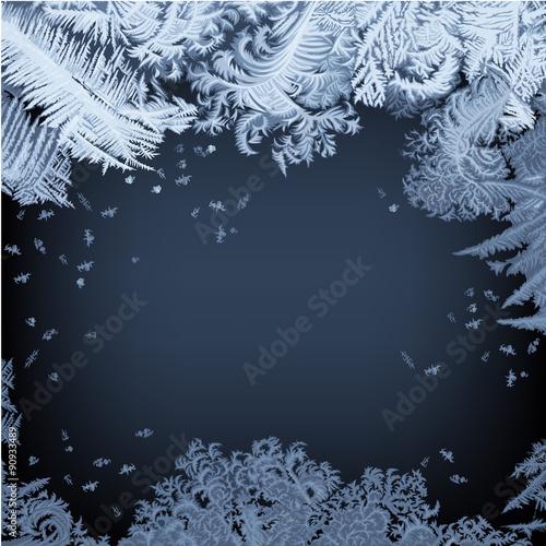 Fotografie, Obraz  Frosty Window