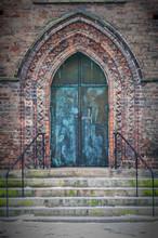 Maria Kyrka Church Door