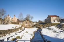 English Rural Village Landscap...