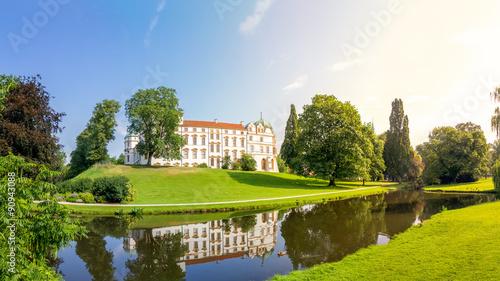 Foto auf Leinwand Schloss Schloss Celle