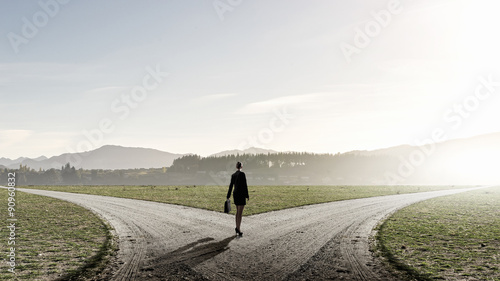 Fotografie, Obraz Choose your way