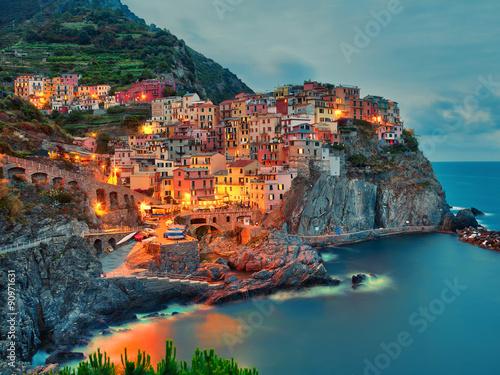Photo  Manarola Cinque Terre Italy