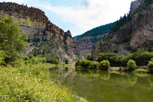 Glenwood Canyon Along The Colo...