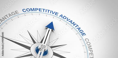 competitive advantage Canvas Print