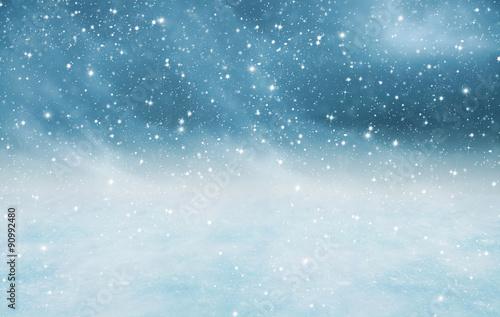 Erster Schnee Canvas Print