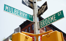 Mulberry And Broome Intersecti...