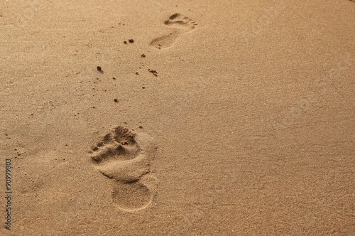 Fotografie, Obraz  Feet on the beach