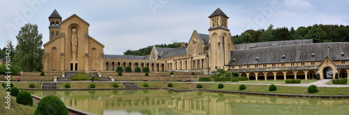 Fotografia, Obraz  Abbaye d'Orval, Belgique
