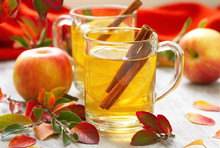 Hot Drink With Apple Juice, Le...