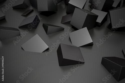 Buried cubes © erllre