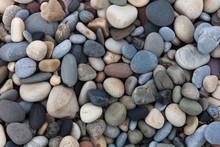 Pebbles On Bracelet Bay On The...