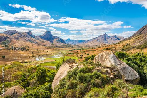 plakat Anja - Nature reserve of Madagascar
