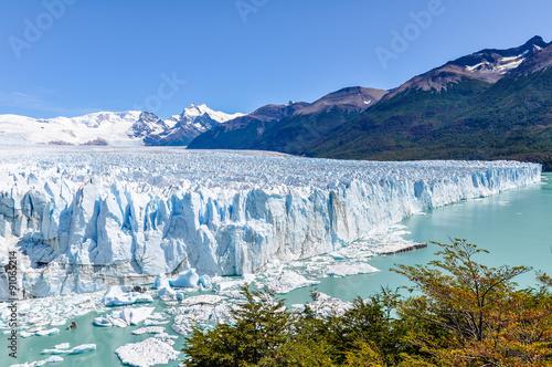 Foto op Canvas Gletsjers Perito Moreno Glacier, Argentina