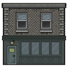 Pixel Art House For Background