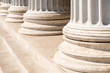 Composite Greek Style Columns Row