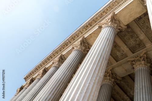 Fotografie, Obraz  Composite Greek Style Columns Row
