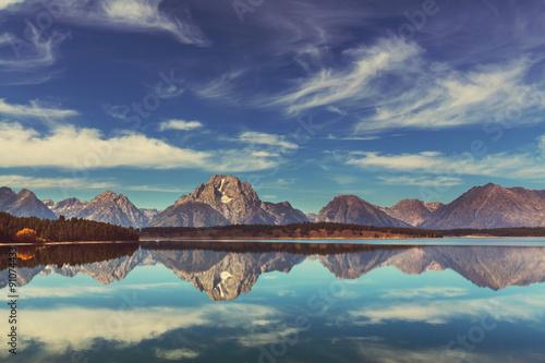Fotografie, Tablou Grand Teton