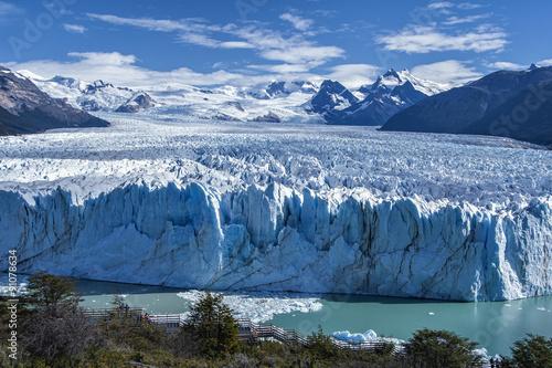 Staande foto Gletsjers Perito Moreno Glacier in Argentina