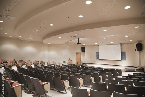 Lecture Hall Canvas Print