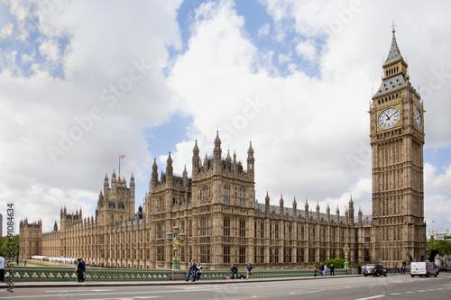 Fotografía Big Ben and Parliament in London