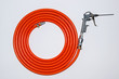 Orange air hose
