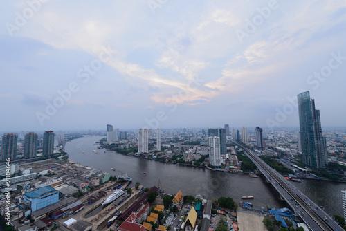 Foto op Aluminium Kuala Lumpur Bangkok View Day