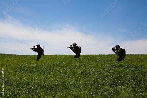Foto op Aluminium Jacht jagdkommando soldiers special forces