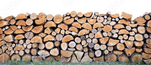 Fotografia  Heap firewood